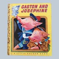 1948 Gaston and Josephine Little Golden Book