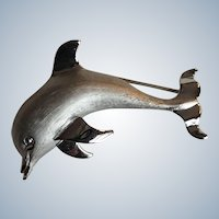 Beau Sterling Porpoise/Dolphin Pin