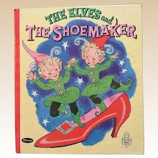 1958 Whitman Tell A Tale Christmas The Elves and the Shoemaker