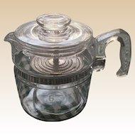 Pyrex Glass 6 Cup Coffee Pot