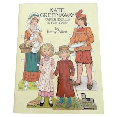 1981 Kate Greenaway Paper Doll Book