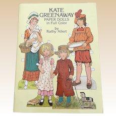 1981 Kate Greenaway Paper Doll Book