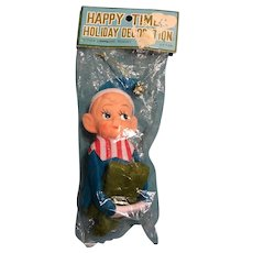 Commodore Knee Hugger Elf Pixie Christmas Ornament New in Package