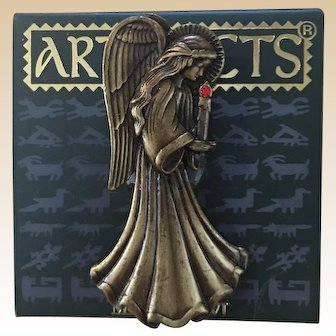 1986 JJ Jonette Christmas Angel Pin