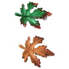 Gerrys Enamel Maple Leaf Pin Set