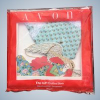 Avon Angel Handkerchief Ornament