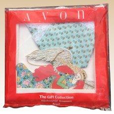 Avon Angel Handkerchief Ornament
