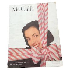 1948 December McCalls Magazine - Red Tag Sale Item