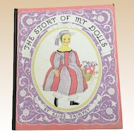 1935 The Story Of My Dolls Book