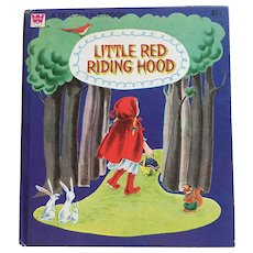 1959 Whitman Tell A Tale Little Red Riding Hood Children Book