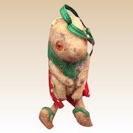 Wagner kunstlerschutz  Handwork West Germany Squirrel Ornament