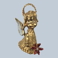 Gerry Christmas Angel Pin
