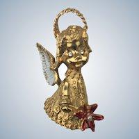 Gerry Christmas Angel Pin
