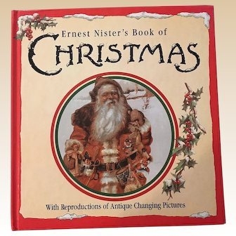 Ernest Nister's Book Of Christmas Changing Pictures Children Board Book