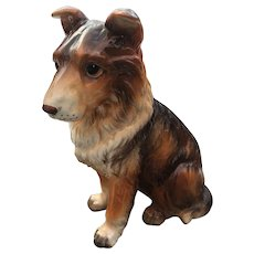 Lefton Collie Figurine