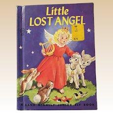 1960's Little Lost Angel Rand Mcnally Junior Elf Book