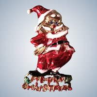 Merry Christmas BJ Beatrix Santa Claus Pin