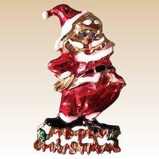 Merry Christmas BJ Beatrix Santa Claus Pin
