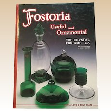 Fostoria Useful and Ornamental Hardcover Collector Books