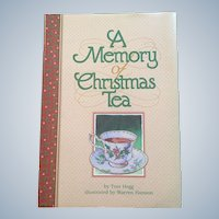 Tom Hegg A Memory Of Christmas Tea Hardcover 1999 First Edition