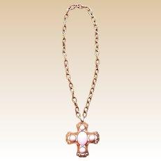 Large Maltese Florenza Necklace
