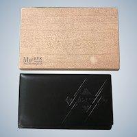 Meeker Genuine Cowhide Leather Wallet
