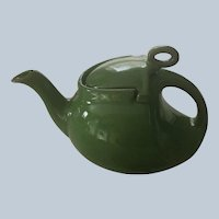 Hall Streamline Emerald 6 Cup Teapot