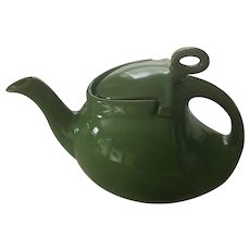 Hall Streamline Emerald 6 Cup Teapot