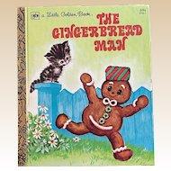 1979 The Gingerbread Man Little Golden Book