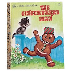 1979 The Gingerbread Man Little Golden Book