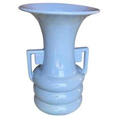 Abingdon USA Pottery Art Deco Blue Vase