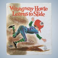 1969 Whitman Tell A Tale Wrong-way Howie Learns To Slide