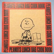 Hardcover 1970 First Edition Peanuts Lunch Bag Cookbook