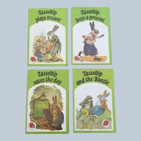 Dorothy Richards 1975 Ladybird Books Tasseltip Four Book Set