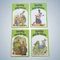 Dorothy Richards 1975 Ladybird Books Tasseltip Four Book Set