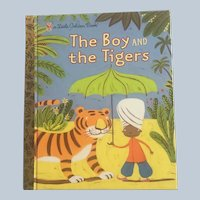 First Edition Little Golden Book The Boy and The Tigers