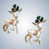 Gerrys Luster Enamel Reindeer Scatter Pin Set