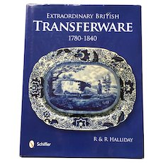 Hardcover Schiffer Extraordinary British Transferware 1780-1840 Reference Guide