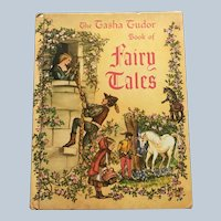 1969 Edition Tasha Tubor Book Of Fairy Tales Hardcover Children Book