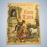 1969 Edition Tasha Tubor Book Of Fairy Tales Hardcover Children Book