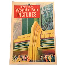1933 World's Fair Souvenir Picture Booklet