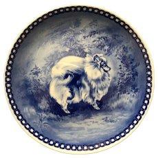 Retired Danish Porcelain Pomeranian Decorative Plate