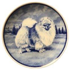 Quality Pomeranian Porcelain Denmark Plate