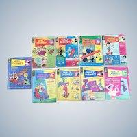 Vintage 1960's-1970's Disney Comics Digest Set Of Nine
