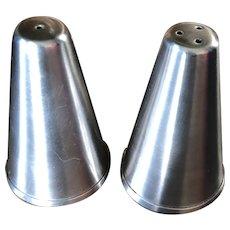 Vintage 1960's Oneida Stainless Steel Shakers