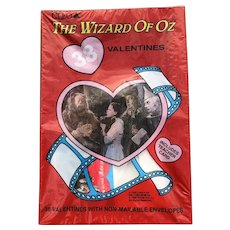 1988 Wizard Of Oz 38 Valentines New In Package