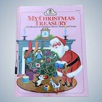 Vintage 1968 Merrigold  Press Children's Book MY CHRISTMAS TREASURY