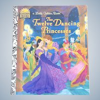 1995 The Twelve Dancing Princesses Little Golden Book