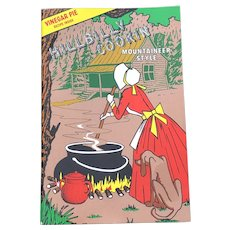 1968 Hillbilly Cookin Mountaineer Style Cookbook