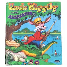 1953 First Edition Uncle Wiggily And The Alligator Whitman Tell A Tale Children Book